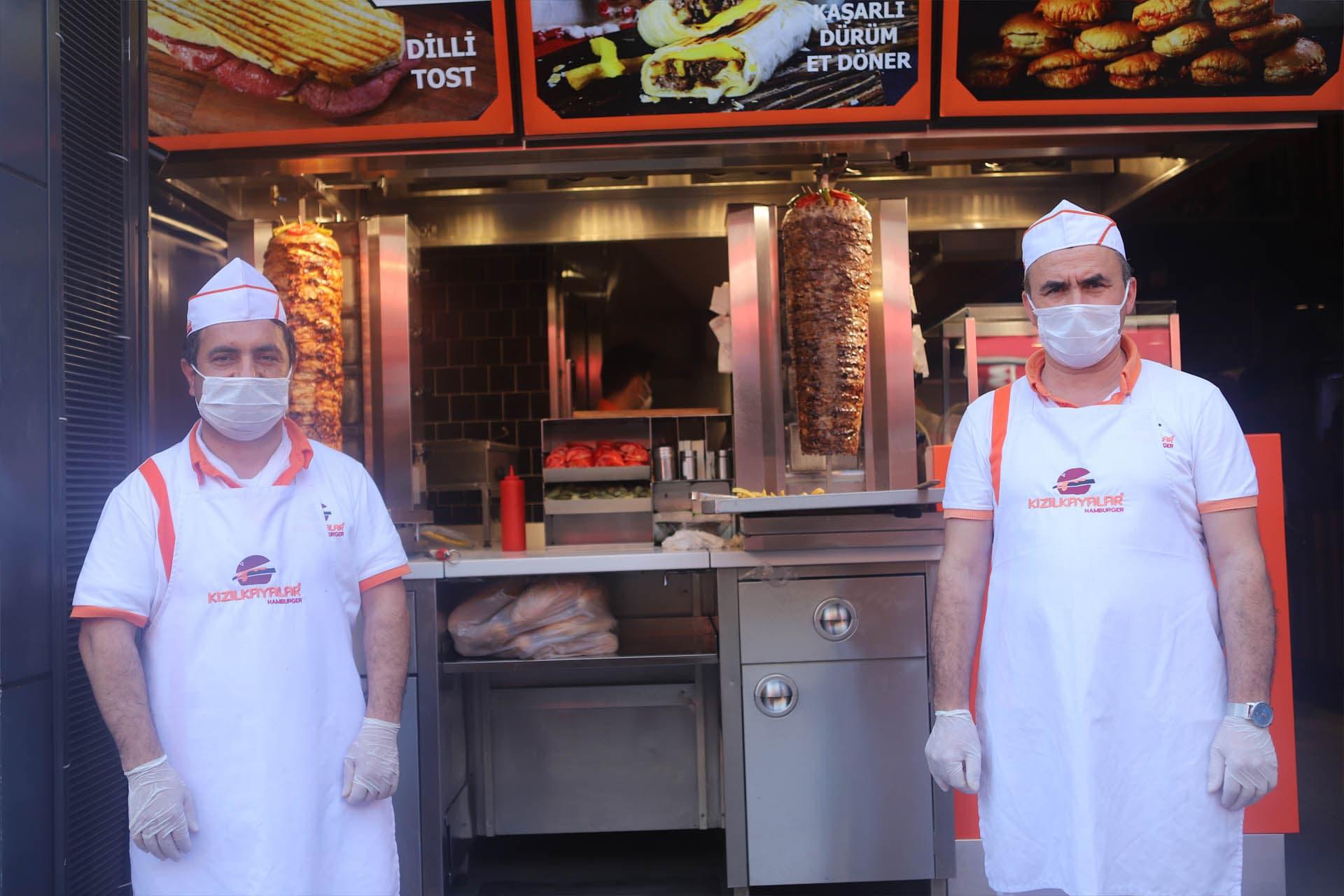 Kızılkayalar Hamburger'in şubeleri nerede?
