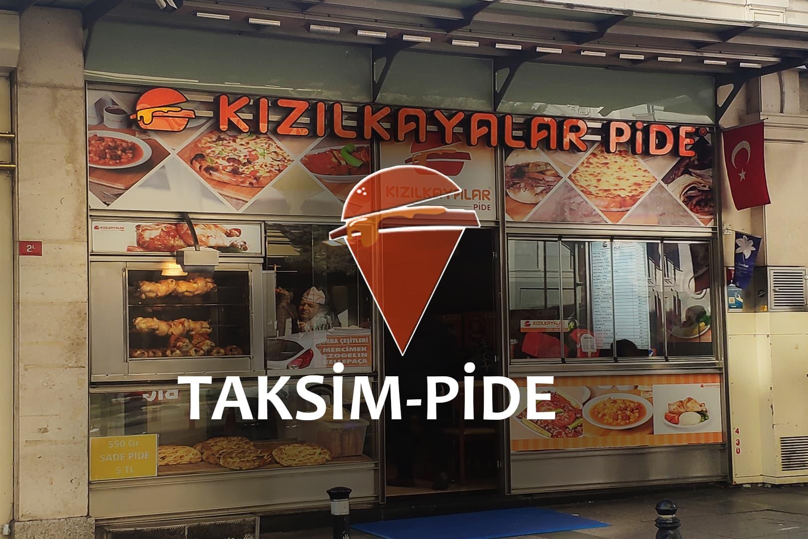 Kızılkayalar Taksim-Pide فرع شجرة