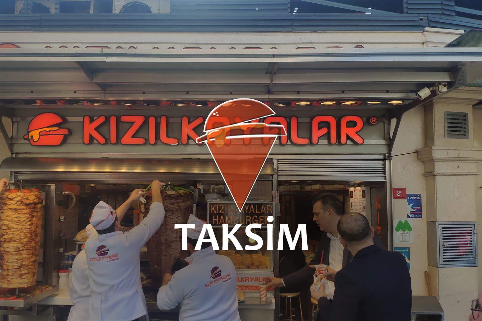 Kızılkayalar Taksim Branch